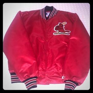 Saint Louis Cardinals vintage style Starter Jacket
